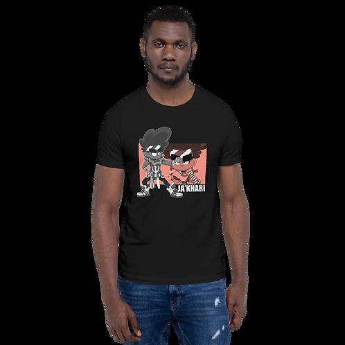 Ja'Khari Short-Sleeve Unisex T-Shirt (Black)