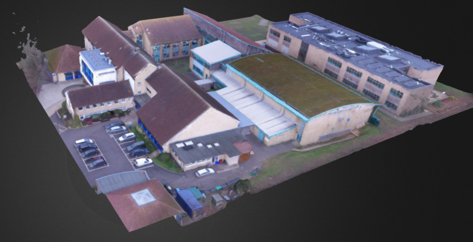 3D model output as part of roof drone assessment