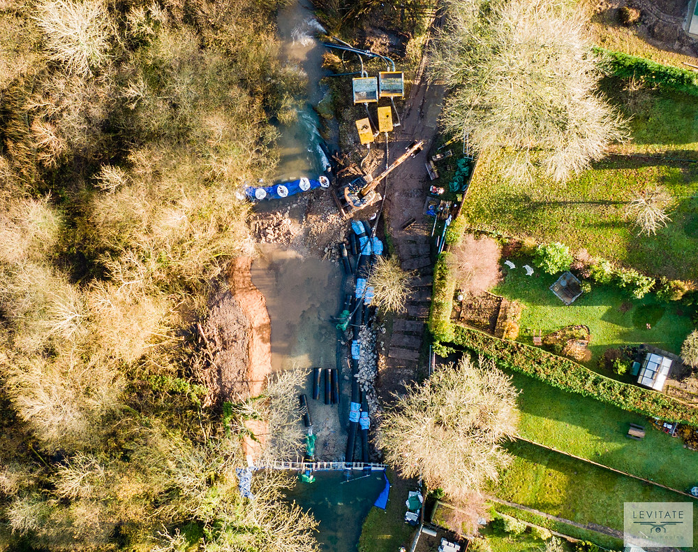 Land & Water at work on the River Lambourn