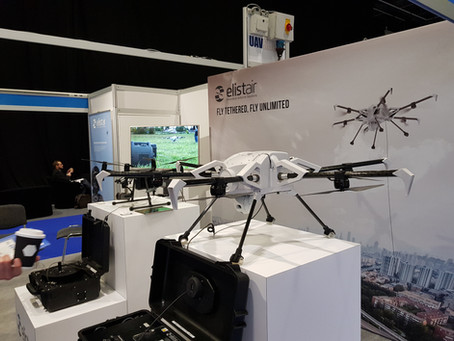 Commercial UAV Show: drone technology galore!