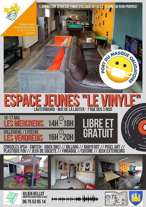 ESPACE JEUNES Le Vinyle de lauterbourg_J
