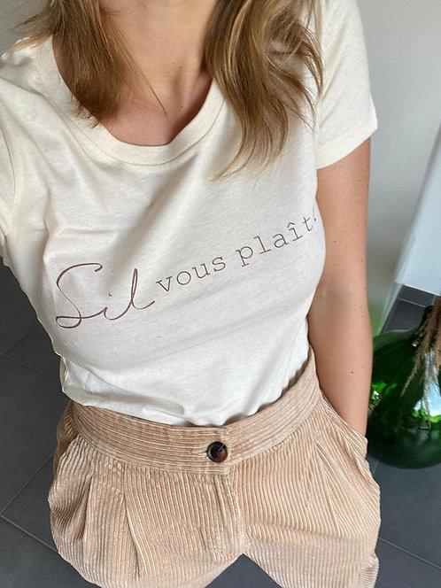Sil vous plaît T-shirt