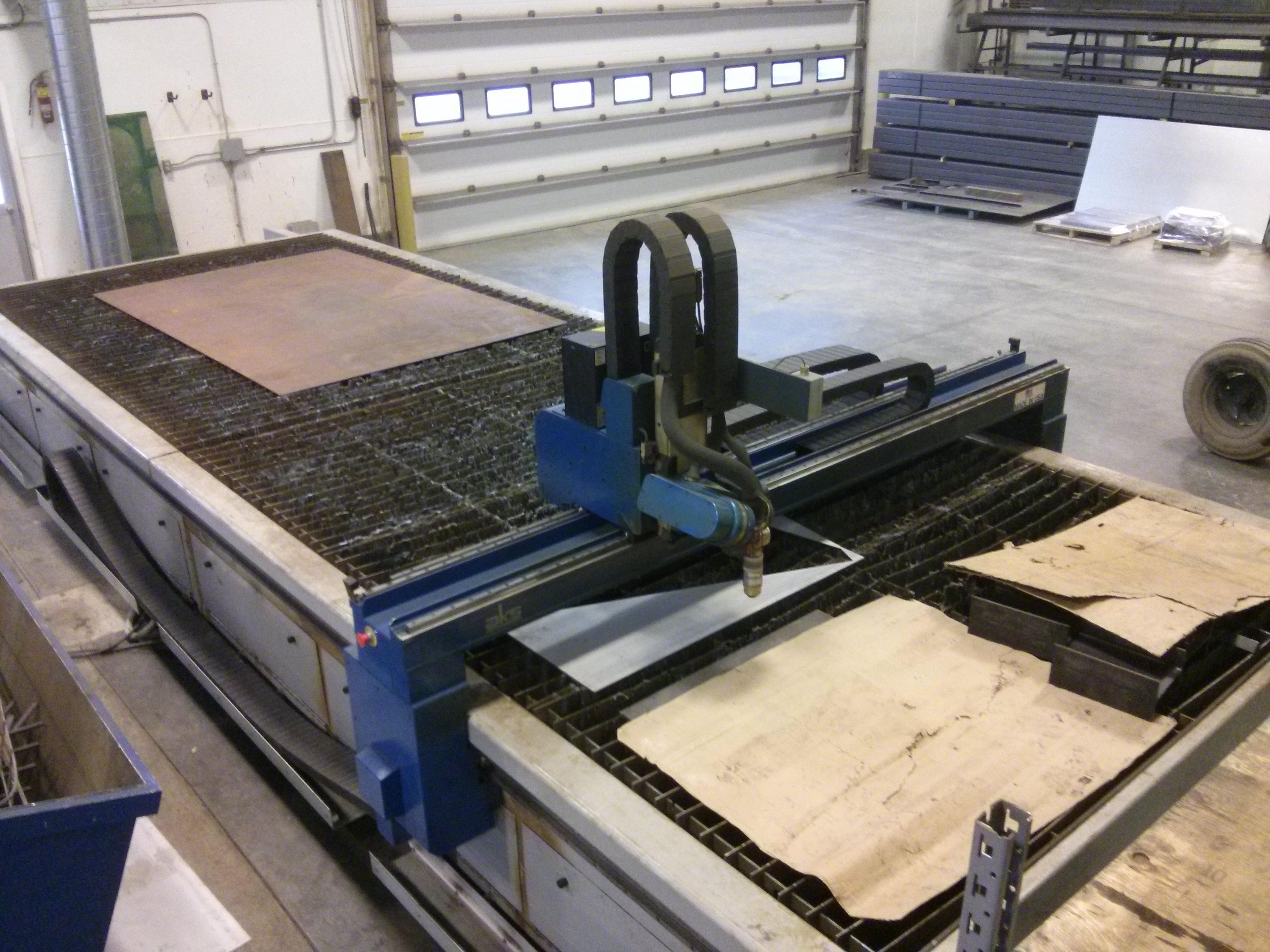 Accu cut plasma table