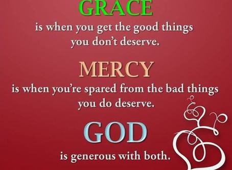 Grace and Mercy: Confused, No More