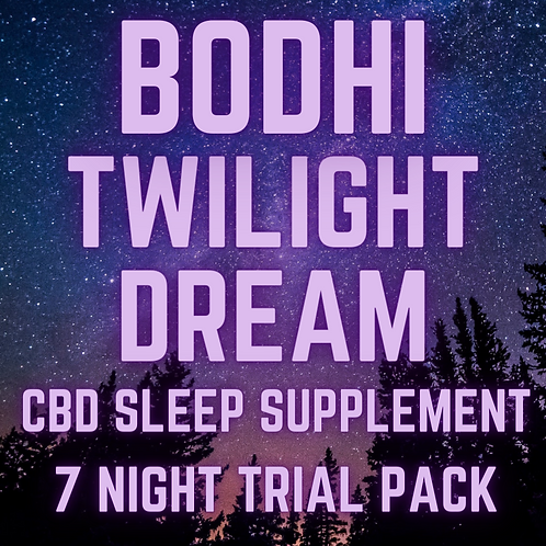 Twilight Dream Sleep Supplement 7 Night Trial (30mg/capsule) 210mg CBD T