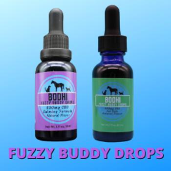 Fuzzy Buddy Drops - 1oz (30ml) 600mg CBD