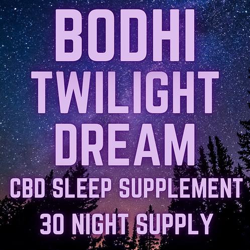 Twilight Dream Sleep Supplement 30 Nights (30mg/capsule) 900mg CBD Total