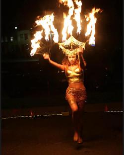 Fire Goddess Headdress