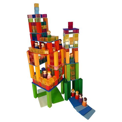 Bauset Wolkenkratzer 264 Teile