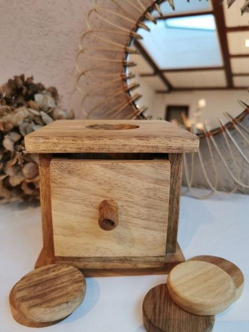 Montessori Box inkl. 5 Coins