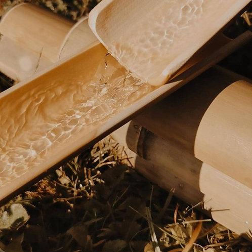 Bambusrinnen Set 18 teilig