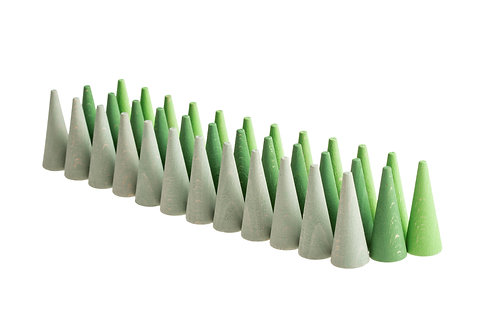 Grapat Mandala Green Cone / Grüne Kegel