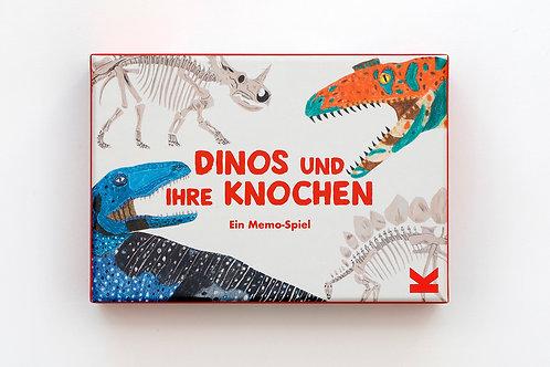 Dinos und ihre Knochen! Memory Spiel