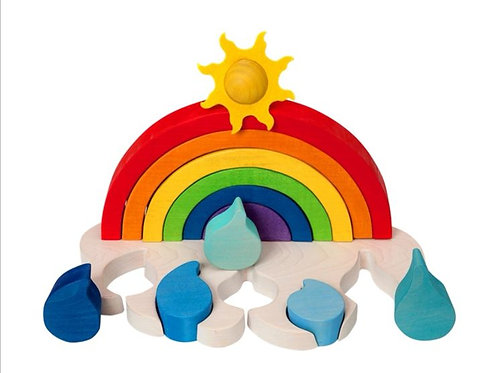 Wetter Regenbogen