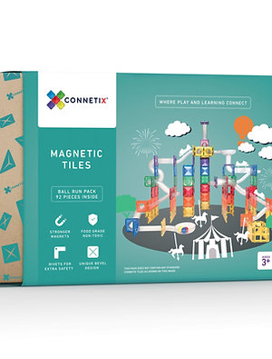 Connetix Tiles Ball Run Pack 92 Teile
