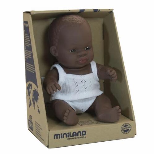 Miniland Afrikanischer Junge 21 cm