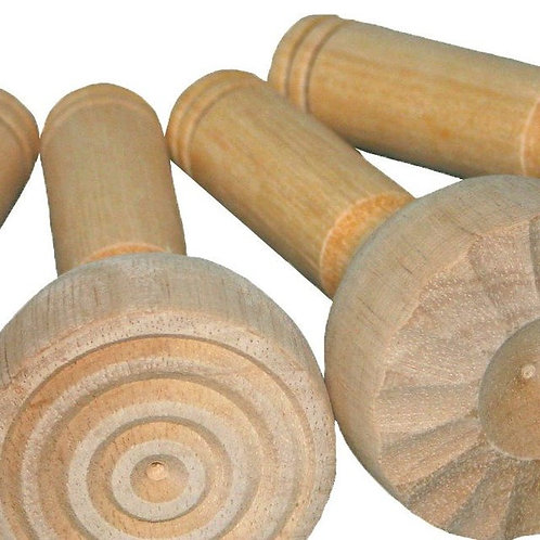 Holzstempel 4er Set