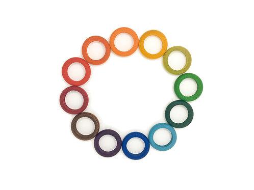 Grapat Regenbogen Ringe