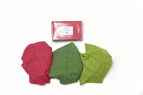 Filges Jahreszeitentücher Wolle 3 Stück 75x75 cm-Sommer