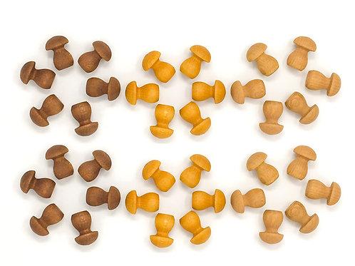 Grapat Mandala Little Mushroom / Kleine Pilze