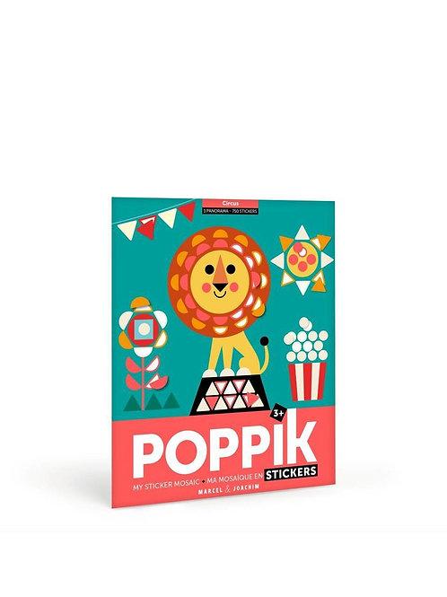 Poppik My Sticker Mosaic -Circus