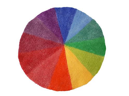 Farbenkreis aus Filz 50cm