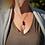 Thumbnail: Leaf Lava Stone Necklace