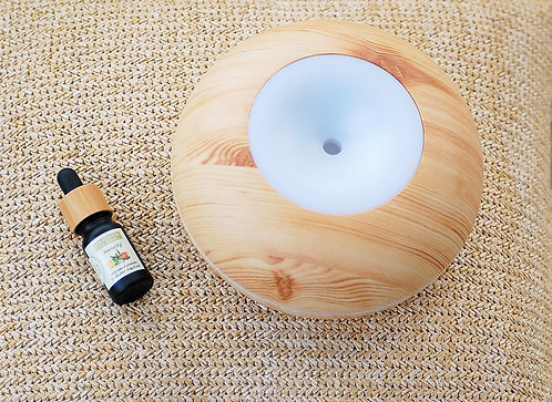 """""""Immunity"""" Essential Oil with Air Purifier (Light Wood Large) Combo"""