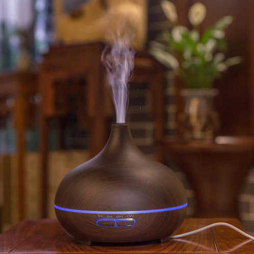 """Large """"Classic"""" Diffuser with remote - Dark Wood"""