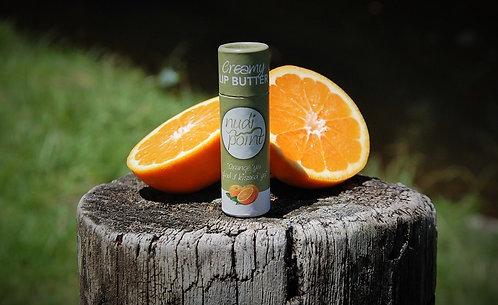 """""""Orange Ya' Glad I Kissed Ya"""" - Creamy Lip Butter (Cardboard Push-Up)"""
