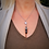 Thumbnail: Rose Quartz Lava Stone Necklace