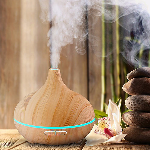 """Large """"Classic"""" Diffuser with remote - Light Wood"""
