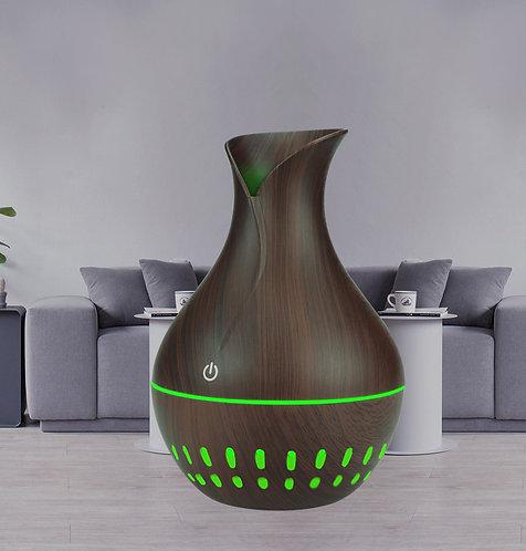 "Small ""Flower Vase"" USB Diffuser - Dark Wood"