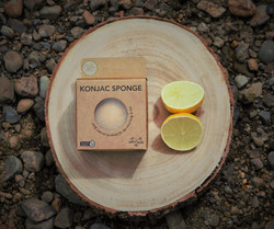 Citrus Konjac Sponge
