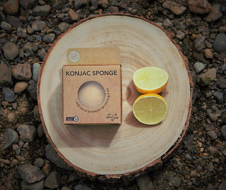 Citrus Konjac Sponge (to brighten skin)