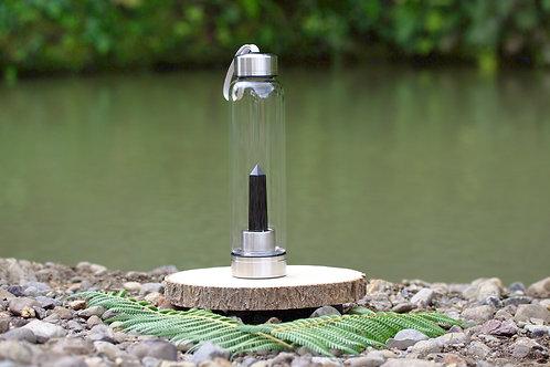 Obsidian Crystal Elixir Water Bottle