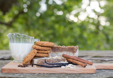 """Oatmeal Cookie"" - Exfoliating Body Bar"