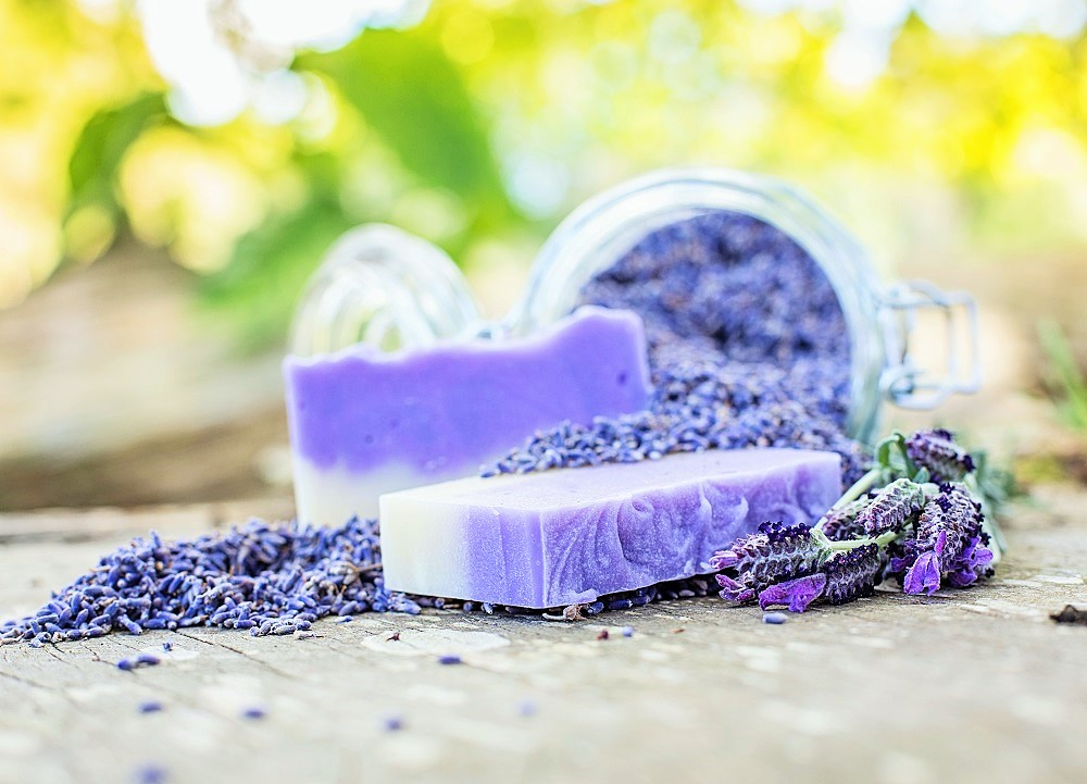 """It must be lavender"" - Relaxing Body Bar"