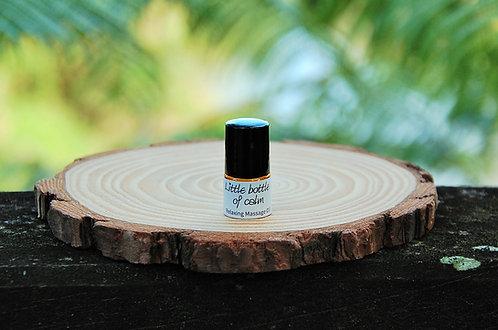 """""""Little bottle of calm"""" - Relaxing Massage Oil (SAMPLE)"""