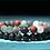 Thumbnail: Men's Lava Stone & Ocean Jasper Bracelet Set