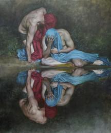 Reflexion V. (Reflection V.)