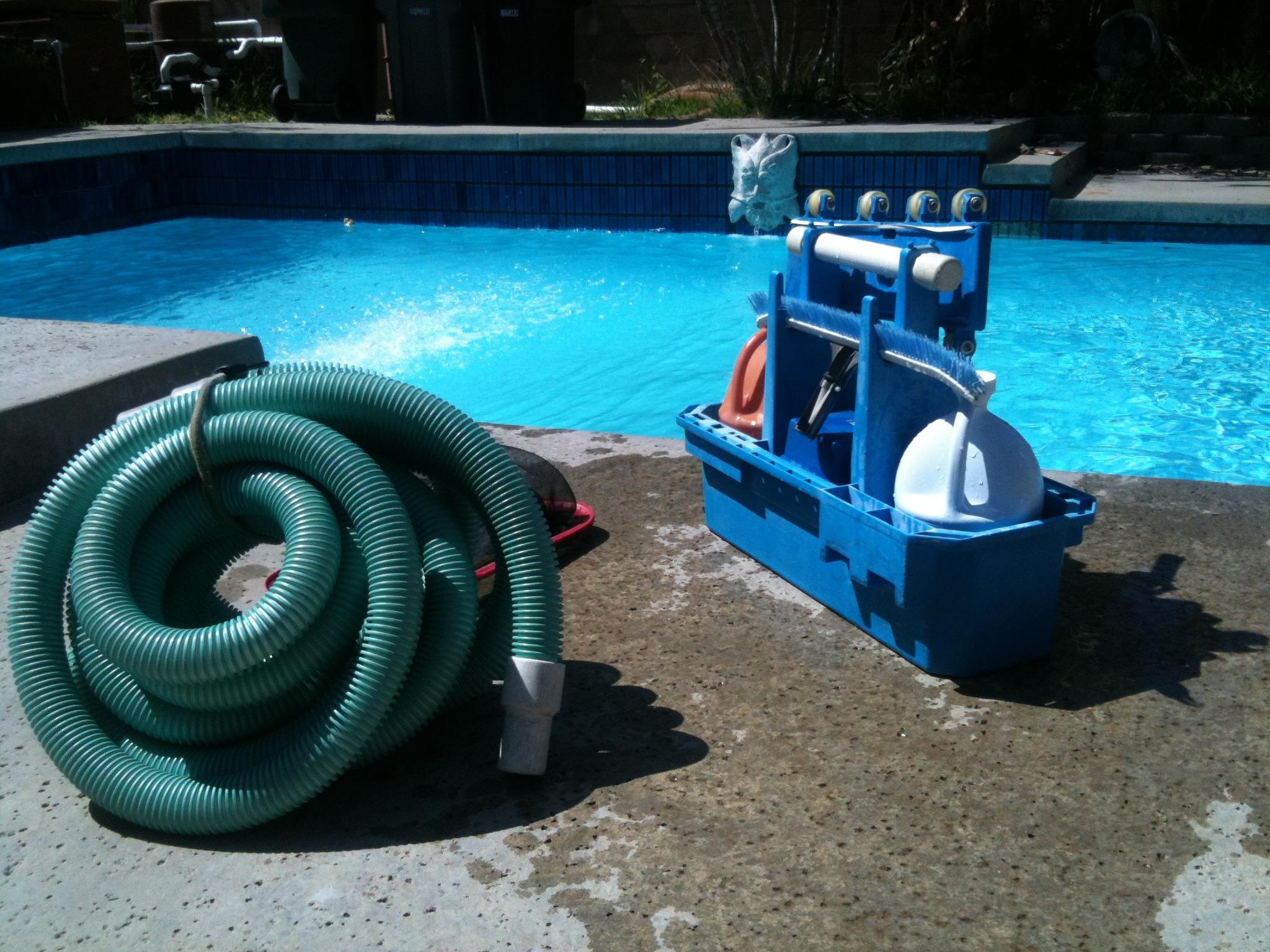 Limpieza de la piscina