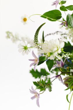 Bouquet de mariée détails
