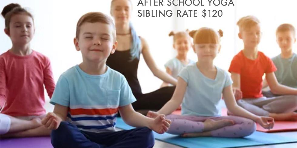 After School Yoga + Sibling