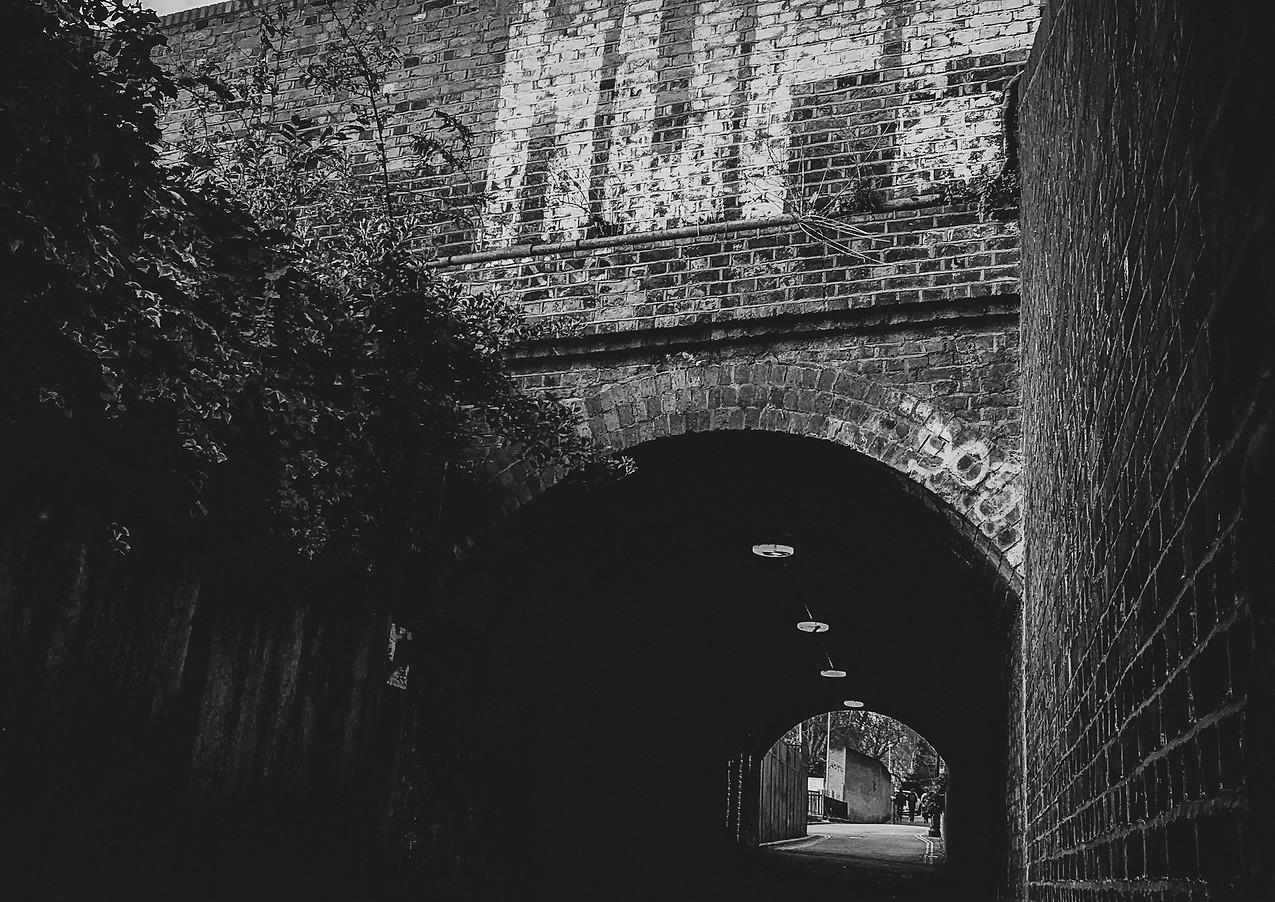 Passage under railway line - Kentish Town