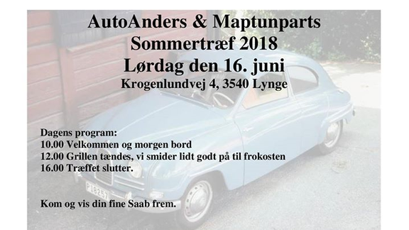 AutoAnders & Maptunparts sommertræf