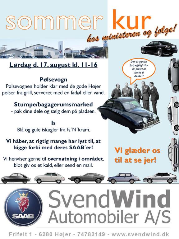 Svend Wind automobiler - sommerkur 2019