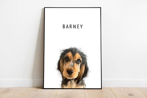 Customised Pet Print