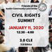 Come to the 2020 Civil Rights Summit