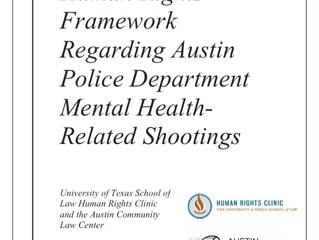 Austin Police Shootings During Mental Health Calls Violate Human Rights